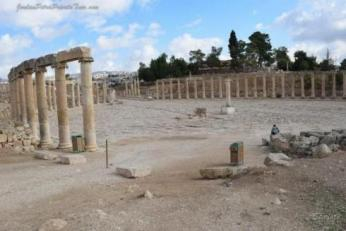Australian Scholar Traces Foundation of Jerash Walls